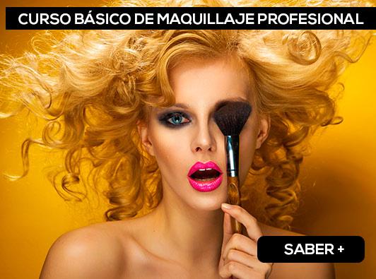 Curso Básico de Maquillaje en Madrid